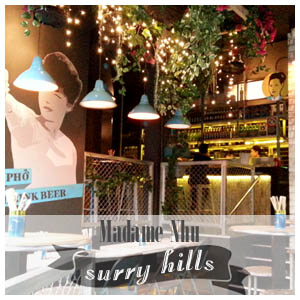 Surry Hills Madame Nhu